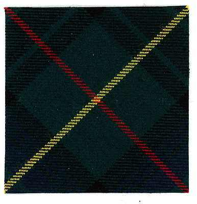 100% Wool Hunting Stewart Tartan 4 Canadian Scottish 66Laa Ghurkas Rca Cap Badge