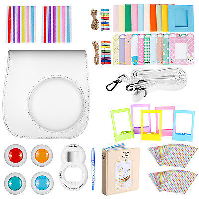 Neewer 10-in-1 Kit di Accessori per Fujifilm Instax Mini 8/8s (Bianco)