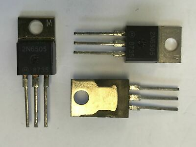 2N6505 Motorola Thyristor To220 100V 25A New 1 Piece