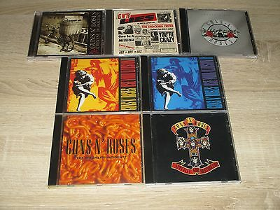 Guns`n Roses 7 CD Musik Sammlung: Greatest Hits + Use Your illusion I+II ...