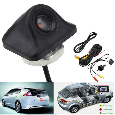 Waterproof 170° Car Reverse Backup Night Vision Camera Rear View Park Cam MT