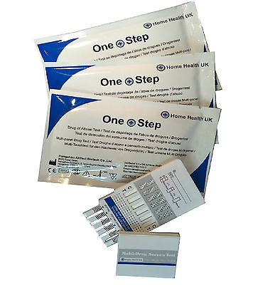 Drug Testing Kit - 2 x 7 Drug Panel Test For Home Or Workplace Screening
