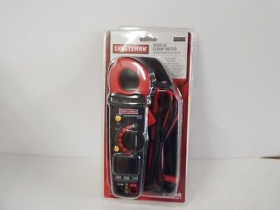 Craftsman Digital Clamp-On Ammeter-82372-NEW