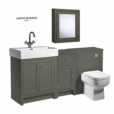 Hudson reed memoir wall mounted vanity unit with for Bathroom furniture 700mm