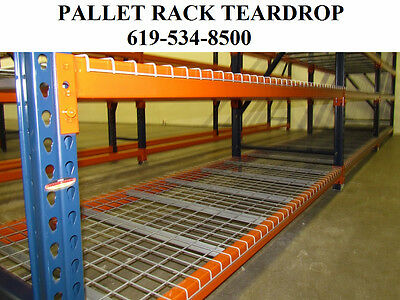 pallet rack racking teardrop industrial shelving warehouse racks NEW San Diego