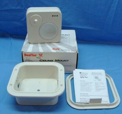 New Dualtree Ceiling Mount Dt5360 Microwave Passive Infrared Motion Detector 50'