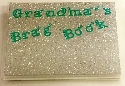 Personalized Photo Album Brag Book Holds 24 Photos 6 x 4 Color Name Options