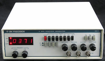 BK Precision 4011 5MHz Function Generator Tested Working
