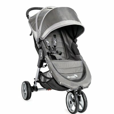 Baby Jogger City Mini 3W Single, Steel Gray - 1962484