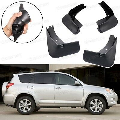 Car Mud Flaps Splash Guard Fender Garde-boue fit for Toyota RAV4 2.4L 2009-2011
