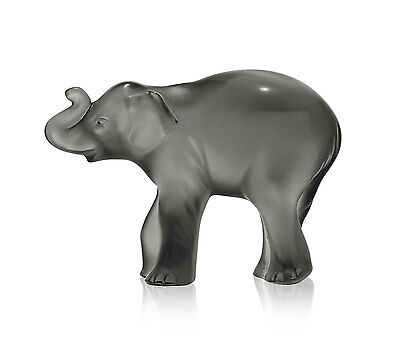 Lalique Timora Grey Baby Elephant Brand New In Box 10492700 Crystal Save$ F/sh