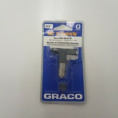Graco 221415 Reversible Airless Spray Tip, RAC IV, 415 (LP2062460)