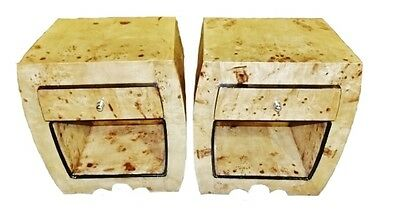 Art Deco Style Nightstands Chest Drawers side tables