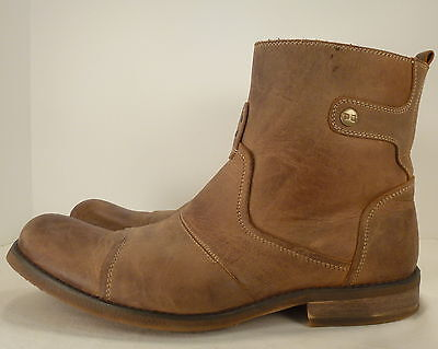 Bed Stu Brown Leather Boots called BURST Men's Shoes size US 11