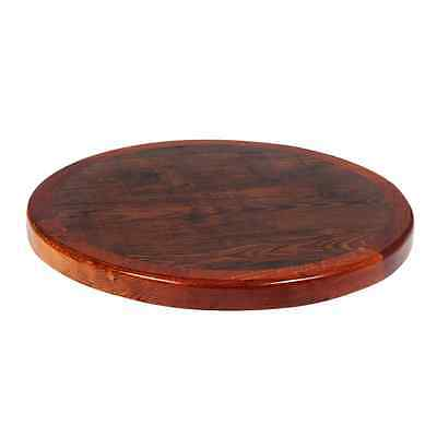 New Commercial Restaurant Resin Table Top Wood Edge Furniture Round 30""