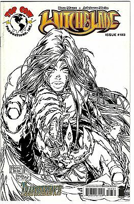 Witchblade #103 (2007) FN   Marz - Melo   Michael Turner Sketch Cover