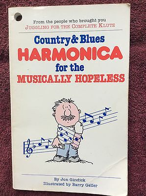 COUNTRY & BLUES HARMONICA for the MUSICALLY HOPELESS Jon Gindick 1984