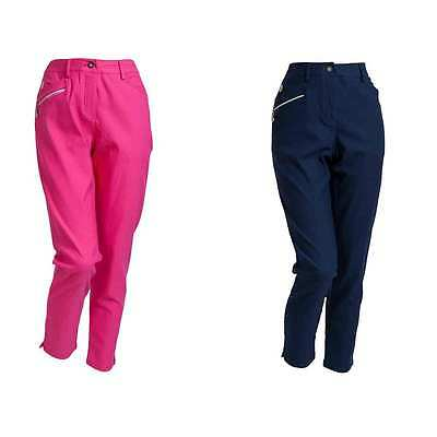 Backtee Ladies Super Stretch 7/8 Golf Trousers