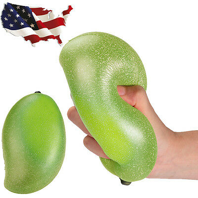 Exclusive Colossal Areedy Squishy Mango Super Slow Rising Scented Authentic US
