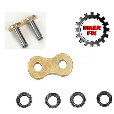 Replacement Soft Rivet Link For Triple SSS 530 O-Ring Gold Chain Chains