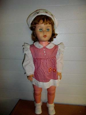 "Unmarked ~ Cute 29"" Companion Friend to Playpal Doll #2"