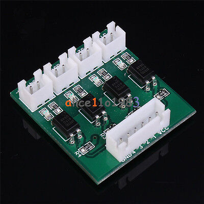 4 Channel Optical Coupler Isolation High/Low Level Voltage Converter Module