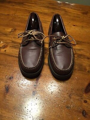 Polo Sport Leather Boat Shoes By Ralph Lauren - Men's 9D