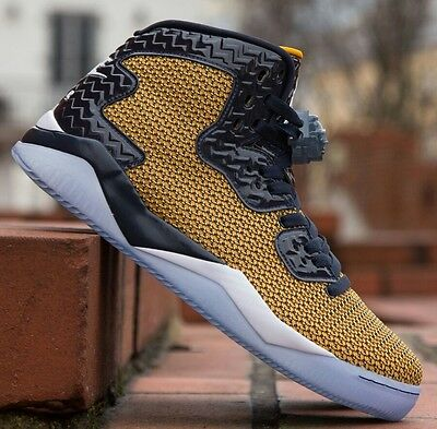 the latest 4835e e52ff Nike Air Jordan Spike Forty Spike Lee Dunk From Above Gold Leaf Mens  819952-706