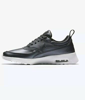 meet ca06c f2dc0 Wmns Nike Air Max Thea SE Silver White Womens Running Shoes Sneakers  861674-002