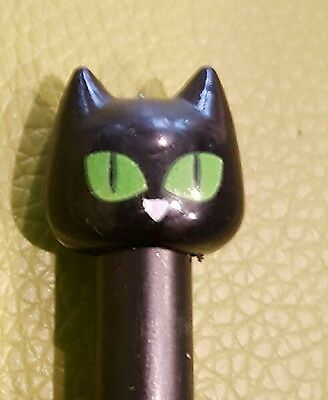 LUCK Black Cat Liquid Black Ink Cute Kitty Cat Pen UK SELLER