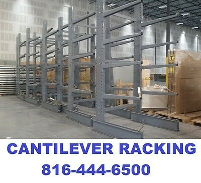 cantilever racking racks lumber racks pipe shelving tower upright 12' w/base