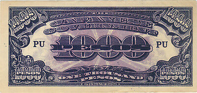 1000 Pesos Philippines Japanese Invasion Money Currency Note Banknote Jim Wwii