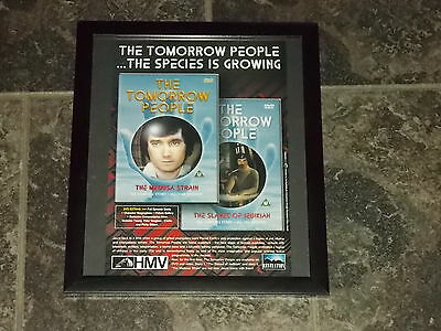 The Tomorrow people-Original advert framed