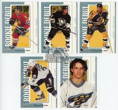 2003-04 In The Game VIP Rookie Debut #91 Jason Pominville NM-MT //40