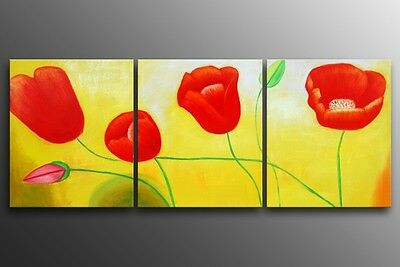 Framed Modern Abstract Oil Painting on canvas  Ready to be hung