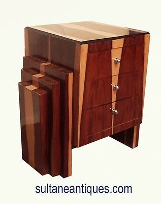 In 4 weeks Art Deco style special rosewood commode3