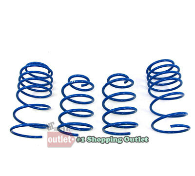 For Hyundai Genesis Coupe 2.0T 3.8 Suspension Racing Coil Drop Lower Lowering Sport Spring Kit Blue