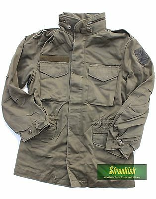 AUSTRIA AUSTRIAN ARMY COMBAT FIELD JACKET M65 with BADGE