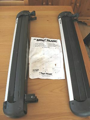 Mont Blanc 539s Ski and snowboard carrier rack up to 6 ski's or 4 snow boards
