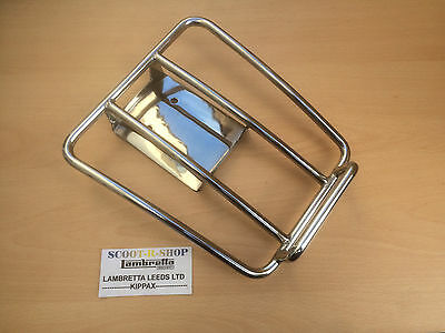 Vespa Gts 125 250 300 Sprint Rack. Stainless Steel Rear Mount Highly Polished.