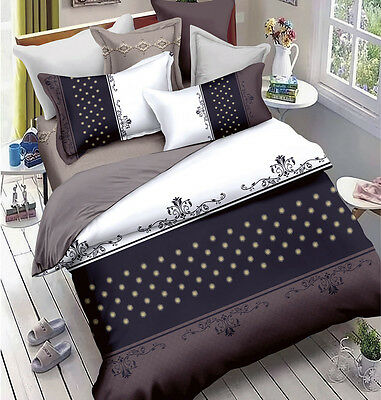 M289 Queen/King/Super King Size Bed Duvet/Doona/Quilt Cover Set New