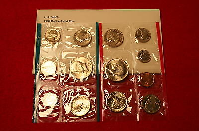 Mint Sets Special (1980 Mint Set) Low Combined Shipping