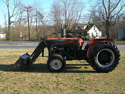 485 Case International   2Wd Diesel   Loader Tractor
