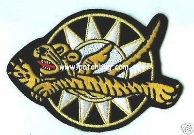 Wwii Aaf Collection: Avg Flying Tigers Cbi China Burma India Badge Patch