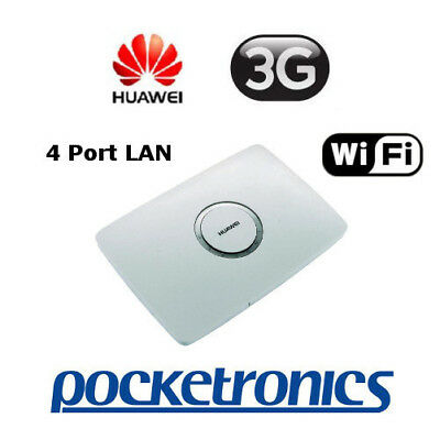 Pendo 3G Buddy Box Huawei 900/2100Mhz Broadband Modem 4-port LAN UNLOCKED
