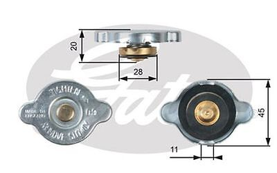 Gates Radiator Cap for MITSUBISHI GTO 3.0 6G72 286bhp