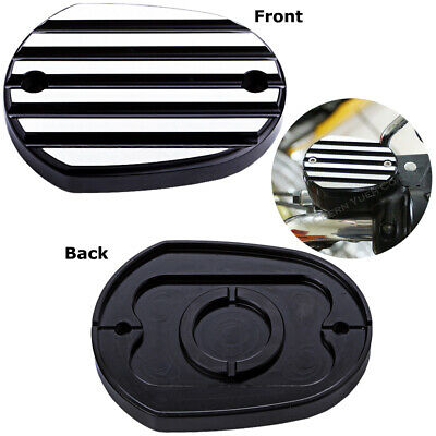 Master Cylinder Cover Replacement Black for 06-17 Harley Sportster XL 883R 1200