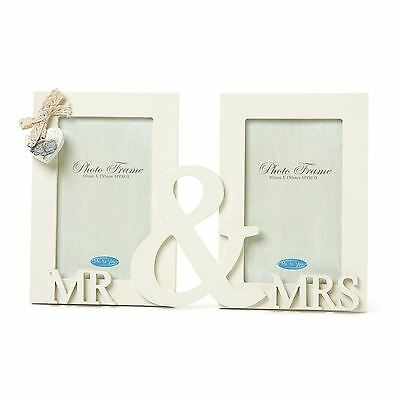 Me To You Mr & Mrs Double Photo Frame Carte Blanche