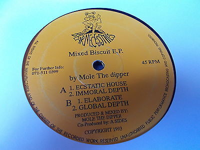 "Mole The Dipper Mixed Biscuit E.P. 12"" Bear Necessities 1993 MA 002"