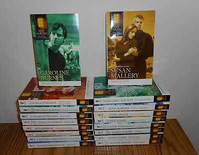 Lot 18 ~ Silhouette / Harlequin Romances ~  SAFE HAVEN   Series